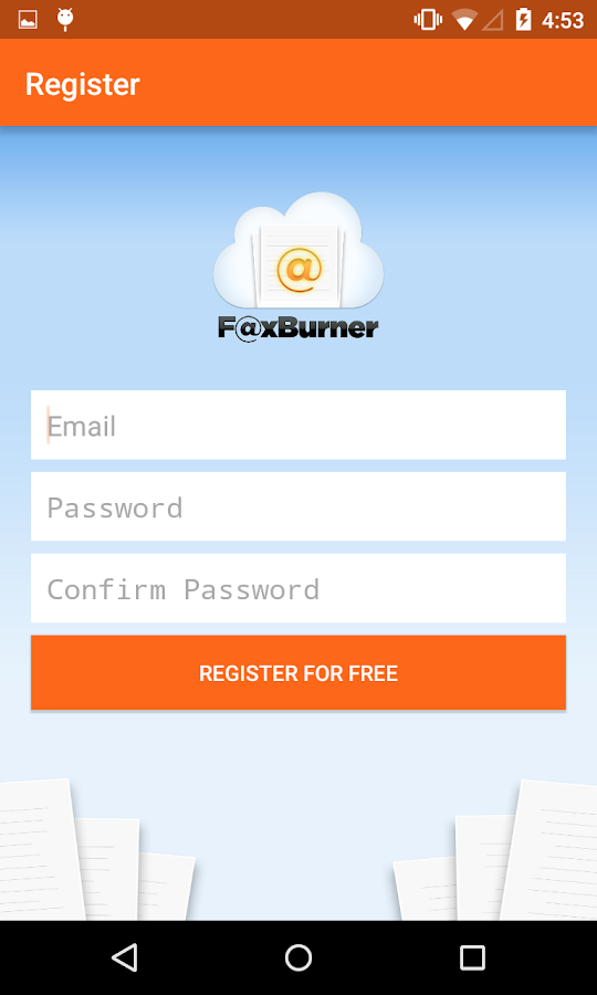 Fax Burner - Get & Send Faxes- screenshot