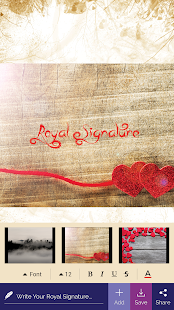 Royal Signature : Draw, Edit and Share Your Sign - náhled