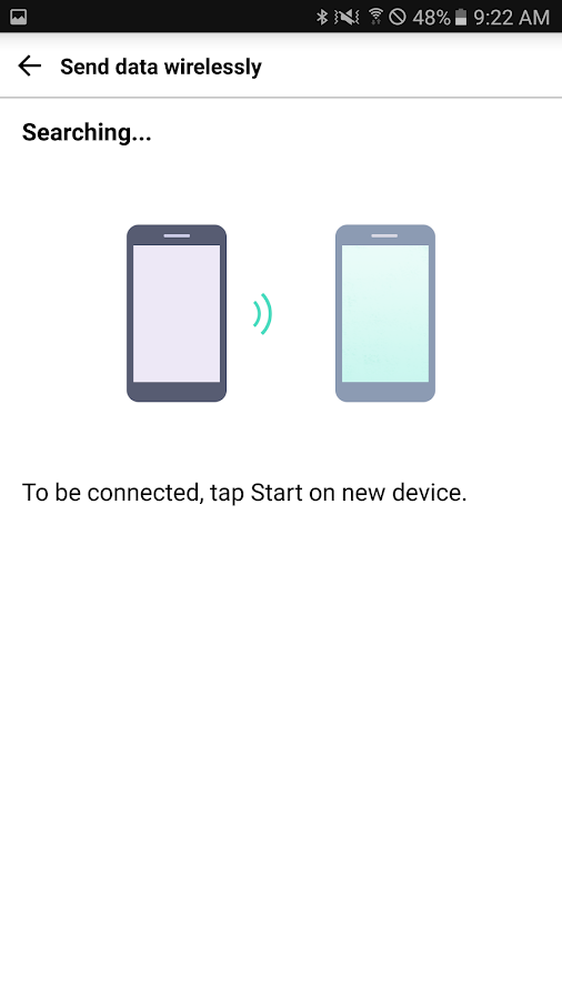LG Mobile Switch (Sender)- screenshot