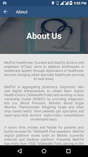 MedTel Healthcare- screenshot thumbnail