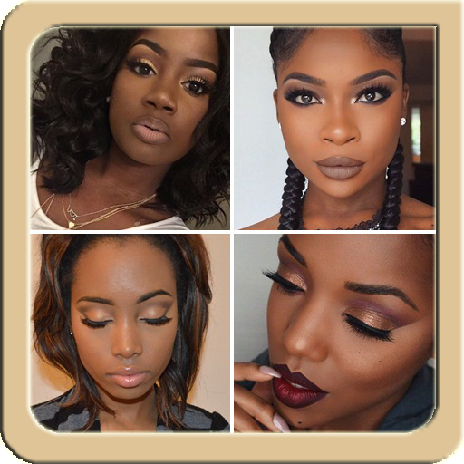 African MakeUp Tutorial Ideas