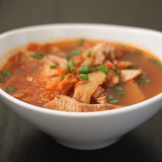 Pork Belly and Kimchi Soup