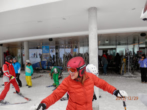 "Photo: ""wo ist mein Skikurs"" : Renate"