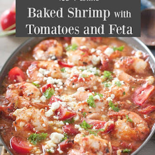 Baked Shrimp with Tomatoes and Feta Recipe