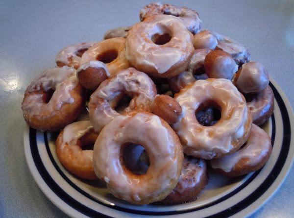Sweet Potato Glazed Doughnuts Recipe