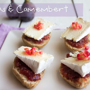 Fig Jam and Camembert on Walnut Bread
