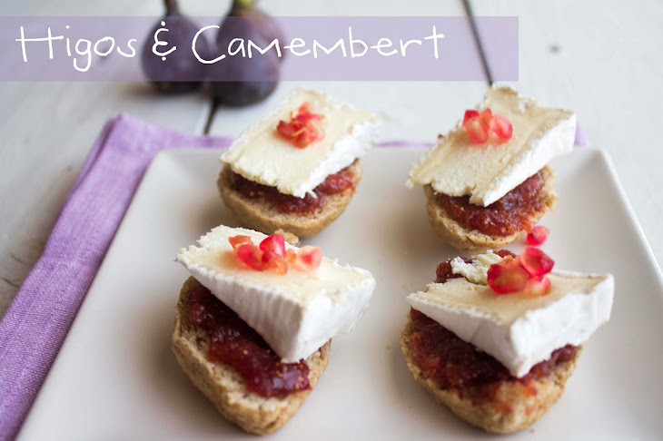 Fig Jam and Camembert on Walnut Bread Recipe