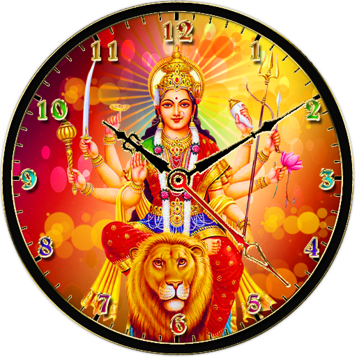 Durga Devi Clock app (apk) free download for Android/PC/Windows