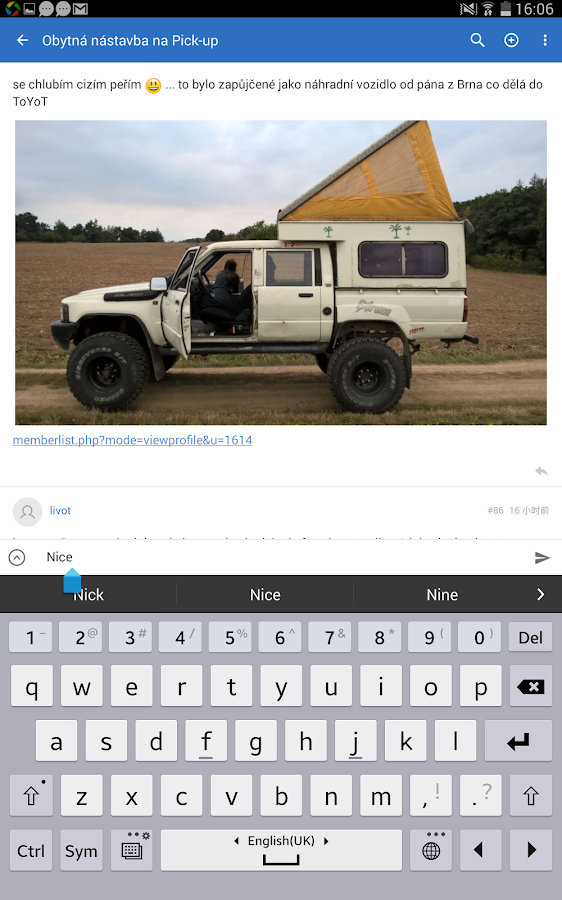 Offroad Forum CZ- screenshot