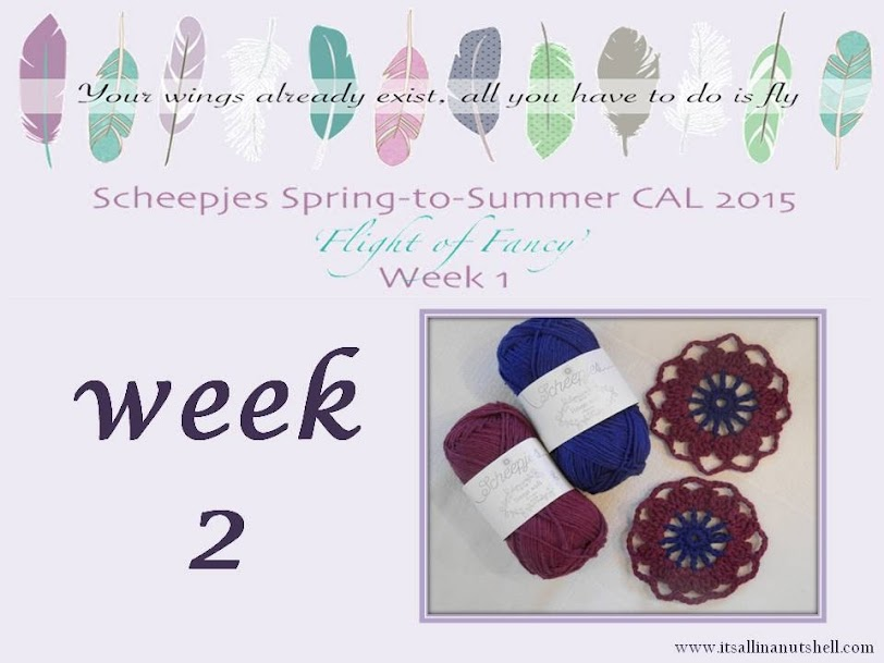 video scheepjes crochet along CAL 2015 flight of fancy