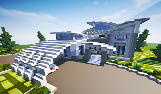 Modern Houses for Minecraft MCPE - náhled
