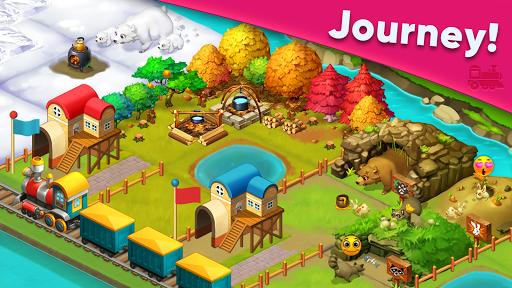 Train town - 3 match merge puzzle games screenshots 3