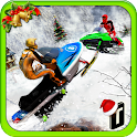 Snowmobile Crash Derby 3D icon