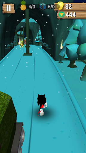 SnowNight Feel : Sonic Black Dash - screenshot
