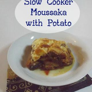 Slow Cooker Moussaka with Potato
