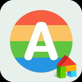 Alphabet LINE Launcher Theme