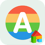 Alphabet LINE Launcher Theme Icon