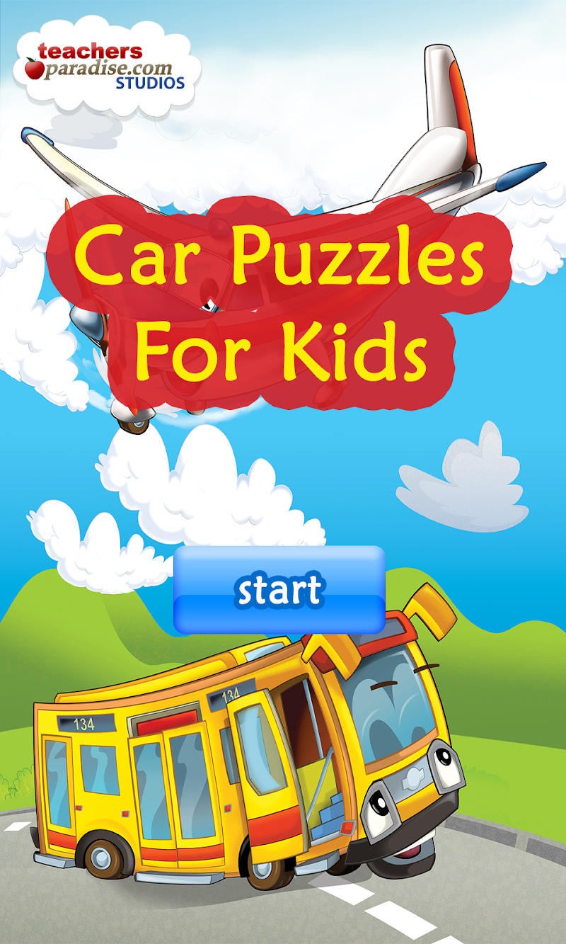 Скриншот Car Puzzles For Kids Free