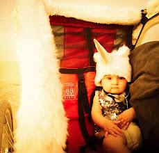 Photo: Baby Unicorn all dressed up at Burning Man…