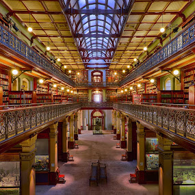 Mortlock Library by Dwayne Flight - Buildings & Architecture Other Interior ( south australia, library, adelaide, mortlock library, hdr,  )
