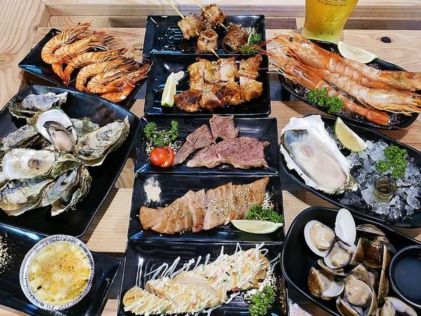 海神弄局 beer&Seafood-台南海鮮燒烤  不管是下班還是週末  約三五好友一同來吃肉喝酒邊打鏢  就是要好好放鬆@