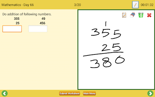 Math & English Worksheets – Apps bei Google Play