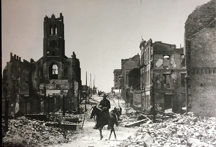 The tower of Old St. Mary's still stands after the city burned down following the 1906 Earthquake.