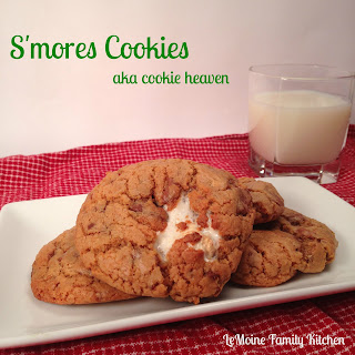 S'mores Cookies {aka cookie heaven}