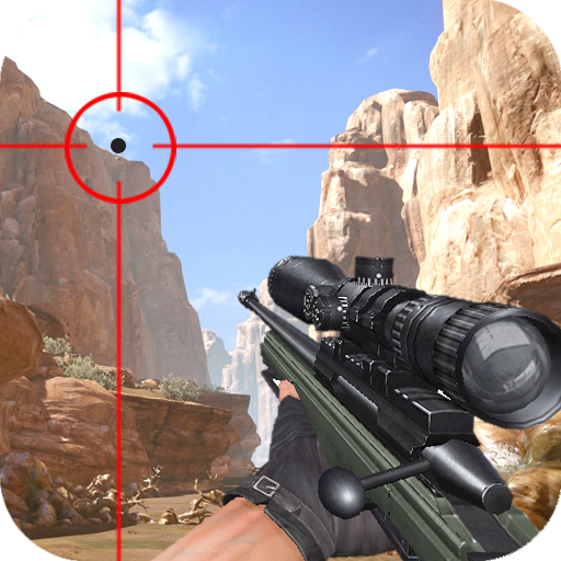 Sniper de tir de montagne