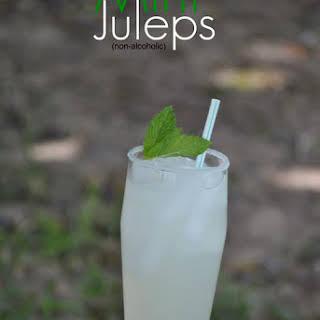 Mint Juleps (non-alcoholic).