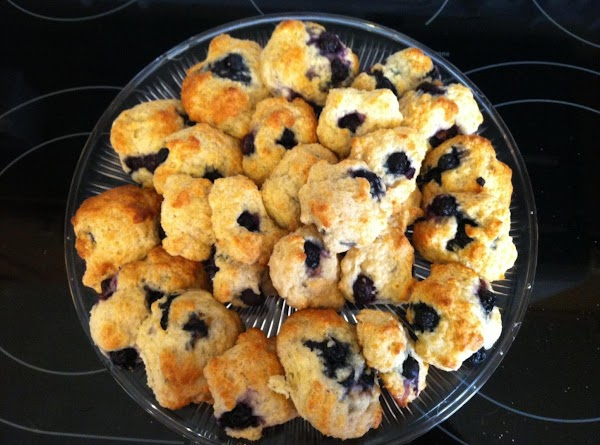 Blueberry Lemon Biscuits Recipe
