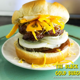 The Black and Gold Burger