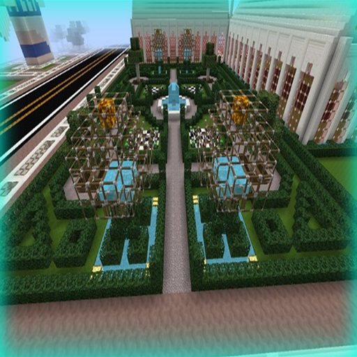 Garden for minecraft build ideas android apps on google play - Minecraft garden designs ...