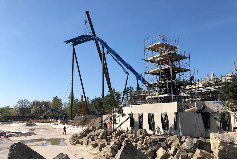 Mijlpaal: Nieuwe achtbaan Toverland bereikt hoogste punt