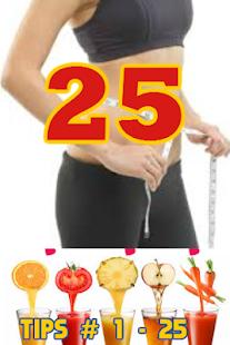 25 Diet Tips - náhled
