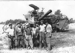 Photo: Aratók 1950-60-as évek, balról jobbra: Magyarics Ferdinánd, id.Bencsik György, Gaál Lajos, Tábor Károly, id.Mészáros Lajos, Kósa Ernő, Fábik László