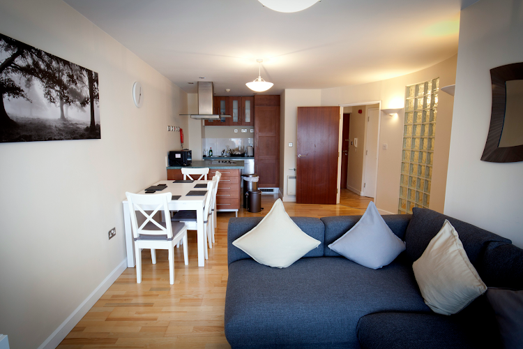 Living space - 2 bed apartment