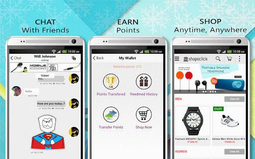Shopoclick - Chat Earn Shop