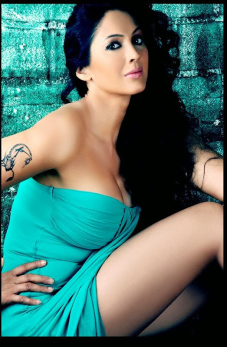 Kalpana Pandit photoshoot, Kalpana Pandit blue, Kalpana Pandit tattoo