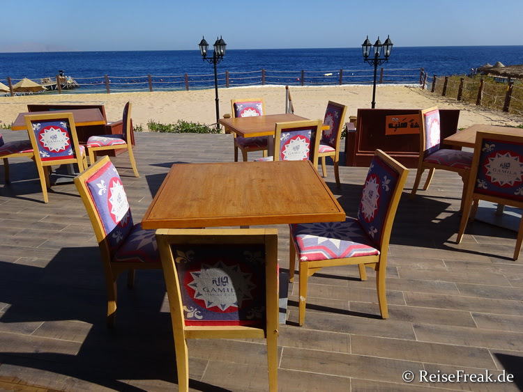 A-la-carte-Restaurant am Strand