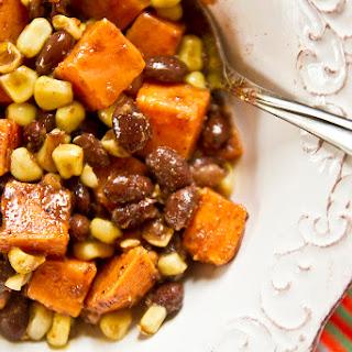 Sweet Potato, Corn, & Black Bean Hash