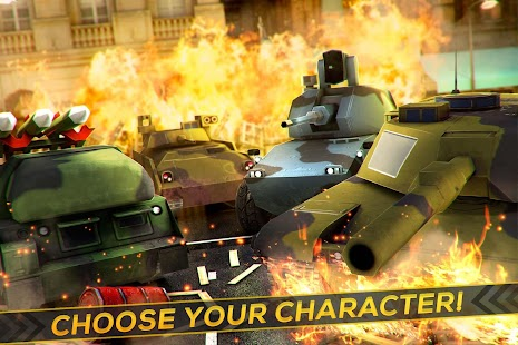 Tank Heroes War City Invasion - náhled