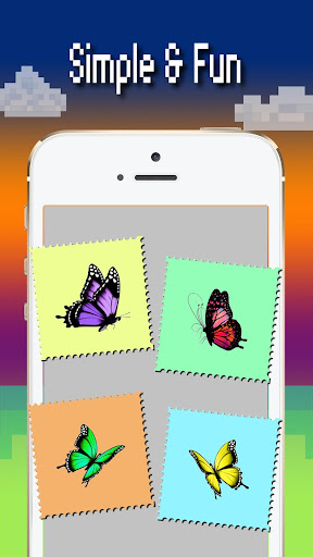Butterfly color by number : Bugs coloring book apktram screenshots 5