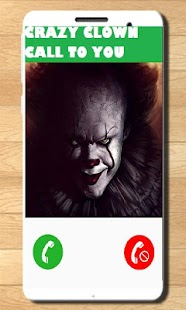 Fake Call And Sms Crazy Clown - náhled