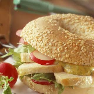 Chicken Breakfast Sandwich.
