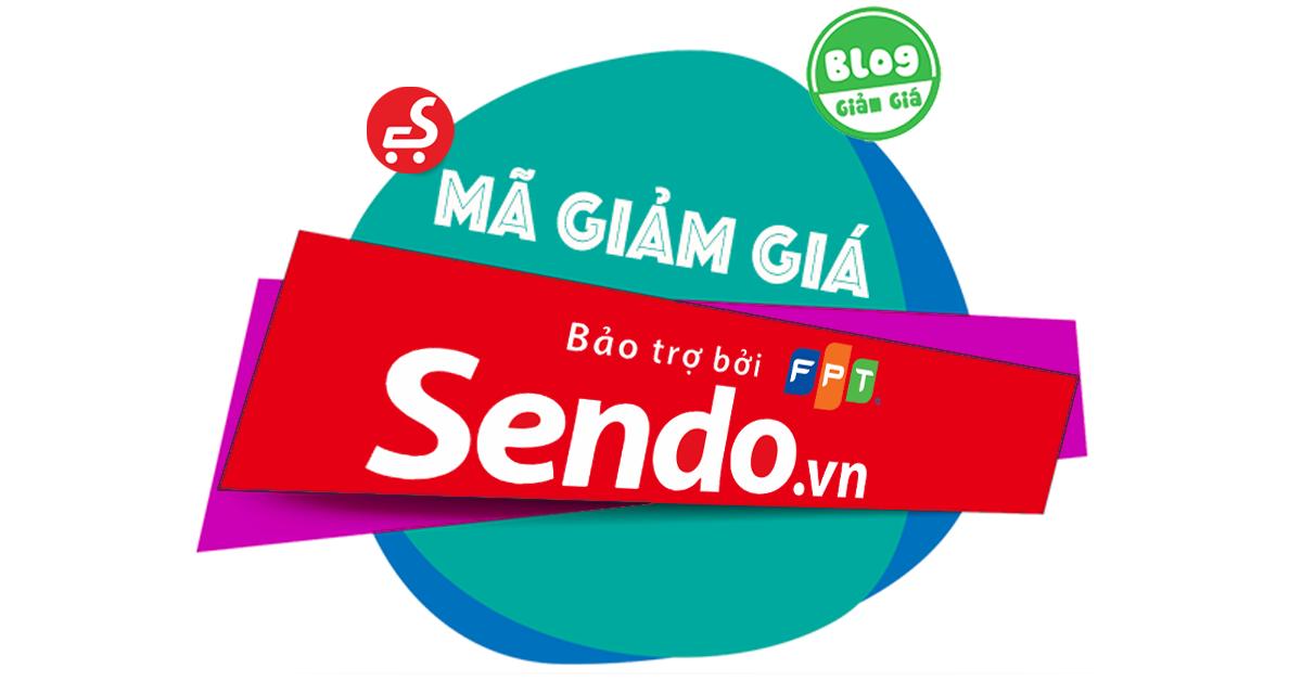 Những loại mã khuyến mãi Sendo mà người tiêu dùng lên biết