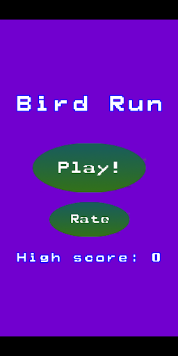 Bird Run - avoid the pipes