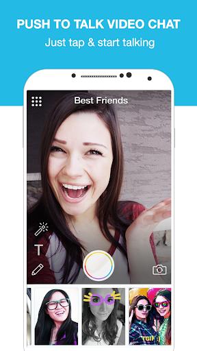 Push-to-Talk Video Chat screenshot 1