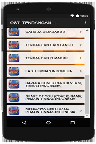 Ost Film Tendangan Garuda Terbaru 1.0 screenshots 5
