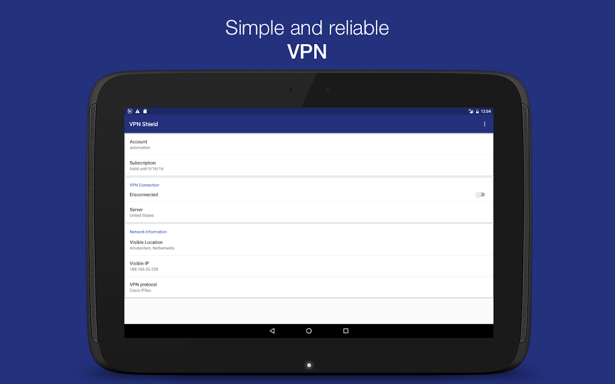 VPN Shield - Unblock Web APK – (Android Apps) — AppAgg